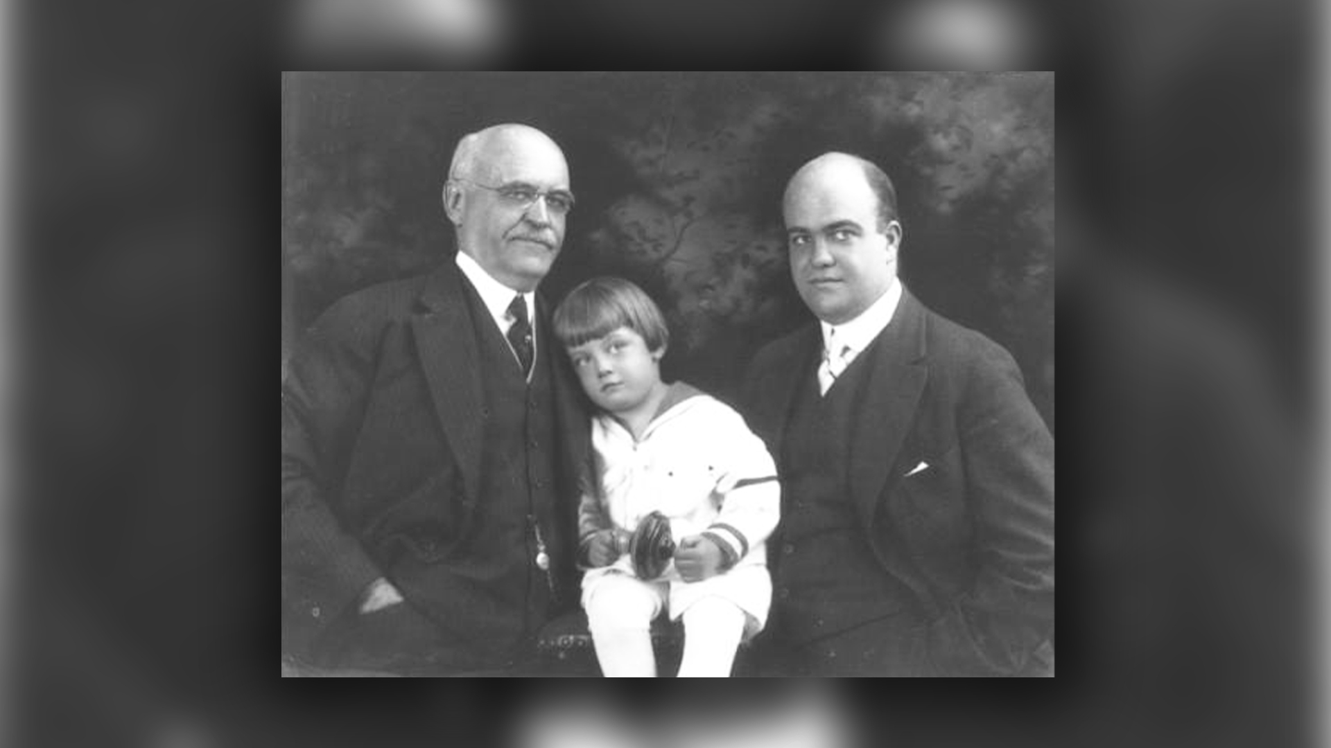 family photo with ew grove