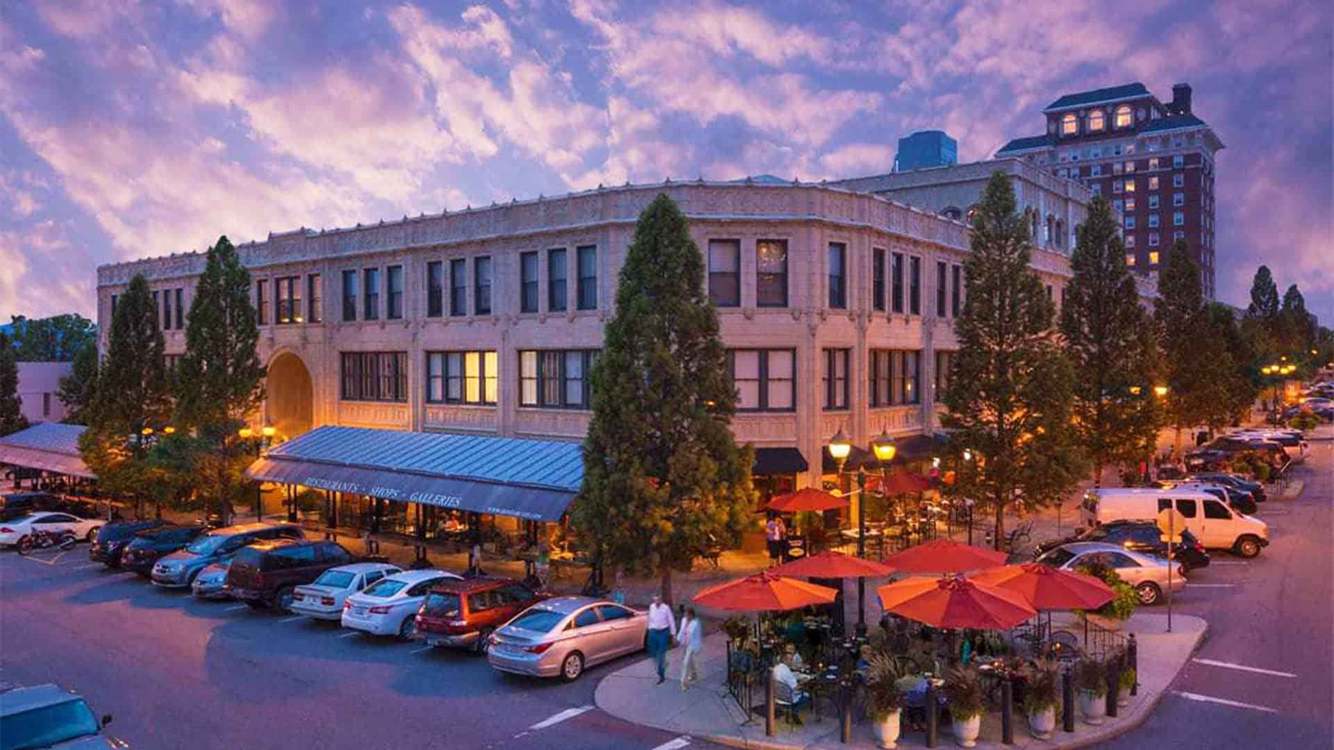 Parking | Grove Arcade | Downtown Asheville